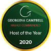 Host of the Year Highly Commended Georgina Campbell 2020